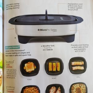 Brand New Tupperware micro Pro Grill